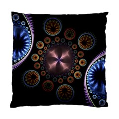 Circles Colorful Patterns  Standard Cushion Case (two Sides)