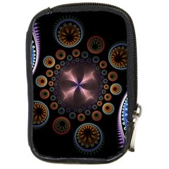 Circles Colorful Patterns  Compact Camera Cases