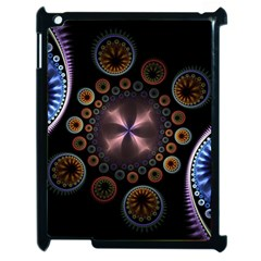 Circles Colorful Patterns  Apple Ipad 2 Case (black)