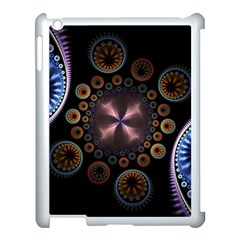 Circles Colorful Patterns  Apple Ipad 3/4 Case (white)
