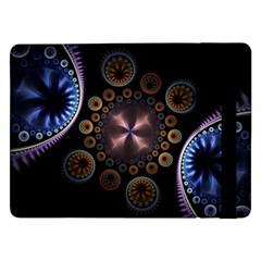 Circles Colorful Patterns  Samsung Galaxy Tab Pro 12 2  Flip Case