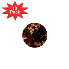Patterns Line Pattern  1  Mini Buttons (10 Pack)