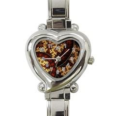 Patterns Line Pattern  Heart Italian Charm Watch