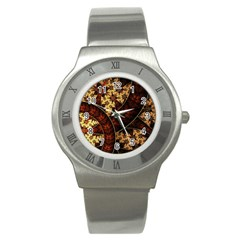 Patterns Line Pattern  Stainless Steel Watch