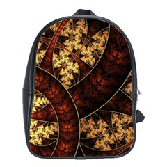 Patterns Line Pattern  School Bag (large)