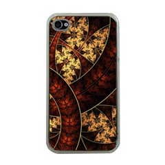 Patterns Line Pattern  Apple Iphone 4 Case (clear)