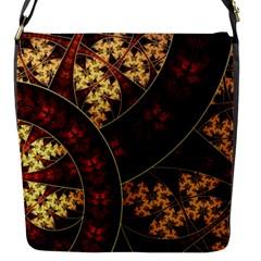 Patterns Line Pattern  Flap Messenger Bag (s)
