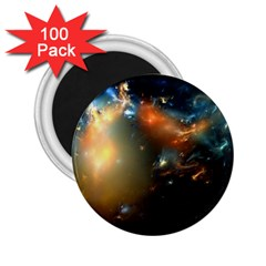 Explosion Sky Spots  2 25  Magnets (100 Pack)