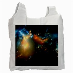 Explosion Sky Spots  Recycle Bag (one Side)