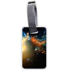 Explosion Sky Spots  Luggage Tags (two Sides)