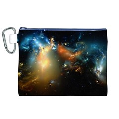 Explosion Sky Spots  Canvas Cosmetic Bag (xl)