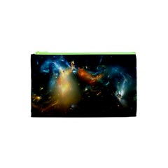 Explosion Sky Spots  Cosmetic Bag (xs)