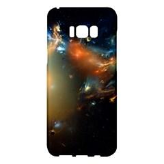 Explosion Sky Spots  Samsung Galaxy S8 Plus Hardshell Case