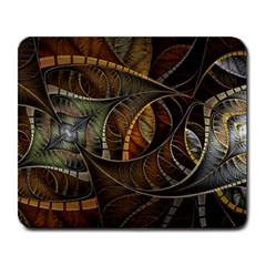 Mosaics Stained Glass Colorful  Large Mousepads