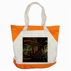Mosaics Stained Glass Colorful  Accent Tote Bag