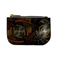 Mosaics Stained Glass Colorful  Mini Coin Purses