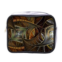 Mosaics Stained Glass Colorful  Mini Toiletries Bags
