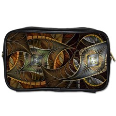 Mosaics Stained Glass Colorful  Toiletries Bags 2 Side