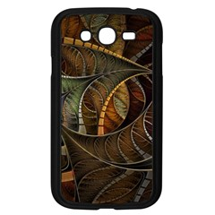 Mosaics Stained Glass Colorful  Samsung Galaxy Grand Duos I9082 Case (black)