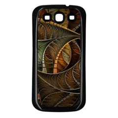 Mosaics Stained Glass Colorful  Samsung Galaxy S3 Back Case (black)