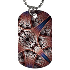 Lines Patterns Background  Dog Tag (two Sides)
