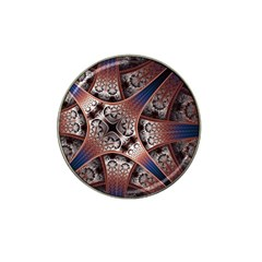 Lines Patterns Background  Hat Clip Ball Marker