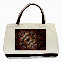 Lines Patterns Background  Basic Tote Bag (two Sides)