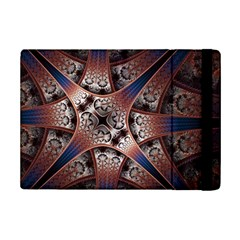 Lines Patterns Background  Ipad Mini 2 Flip Cases