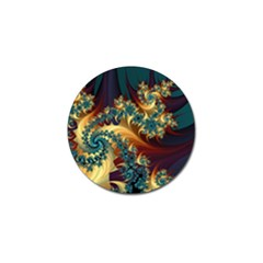 Patterns Paint Ice  Golf Ball Marker