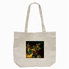 Patterns Paint Ice  Tote Bag (cream)