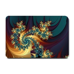 Patterns Paint Ice  Small Doormat