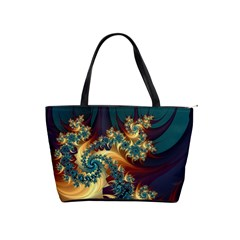 Patterns Paint Ice  Shoulder Handbags