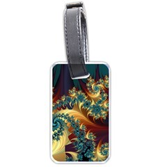 Patterns Paint Ice  Luggage Tags (one Side)
