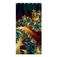 Patterns Paint Ice  Shower Curtain 36  X 72  (stall)