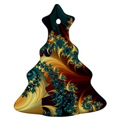 Patterns Paint Ice  Christmas Tree Ornament (two Sides)