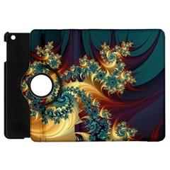 Patterns Paint Ice  Apple Ipad Mini Flip 360 Case