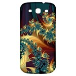 Patterns Paint Ice  Samsung Galaxy S3 S III Classic Hardshell Back Case Front