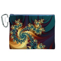 Patterns Paint Ice  Canvas Cosmetic Bag (xl)