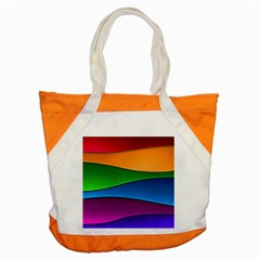 Layers Light Bright  Accent Tote Bag