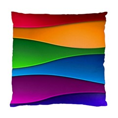 Layers Light Bright  Standard Cushion Case (one Side)