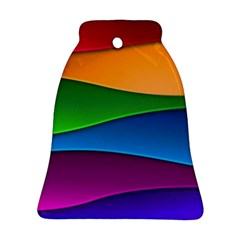 Layers Light Bright  Bell Ornament (two Sides)