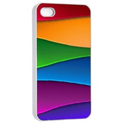 Layers Light Bright  Apple Iphone 4/4s Seamless Case (white)
