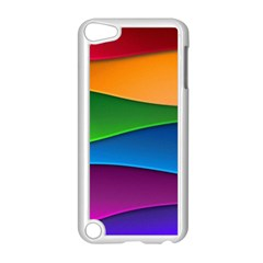 Layers Light Bright  Apple Ipod Touch 5 Case (white)