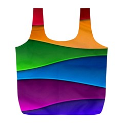 Layers Light Bright  Full Print Recycle Bags (l)