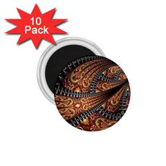 Patterns Background Dark  1 75  Magnets (10 Pack)