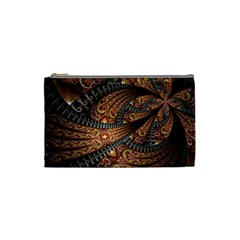 Patterns Background Dark  Cosmetic Bag (small)
