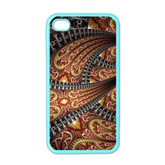 Patterns Background Dark  Apple Iphone 4 Case (color)