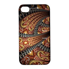 Patterns Background Dark  Apple Iphone 4/4s Hardshell Case With Stand
