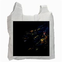 Spots Dark Lines Glimpses 3840x2400 Recycle Bag (two Side)