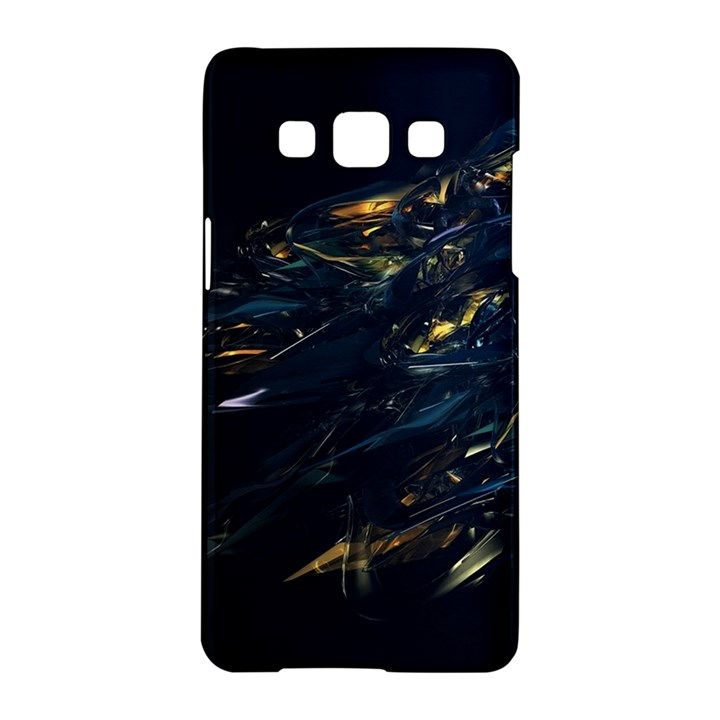 Spots Dark Lines Glimpses 3840x2400 Samsung Galaxy A5 Hardshell Case